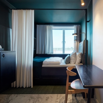 Superior Single Room, Hotel Danmark