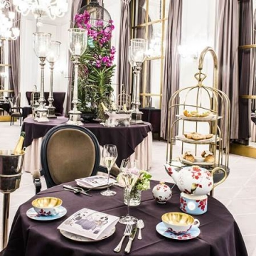Afternoon Tea, Hotel d'Angleterre