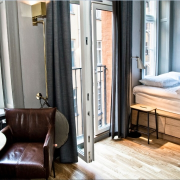 Single Room, Hotel SP34, Copenhagen